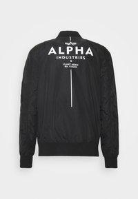 Alpha Industries - GLOW IN THE DARK - Bomber Jacket - black - 9