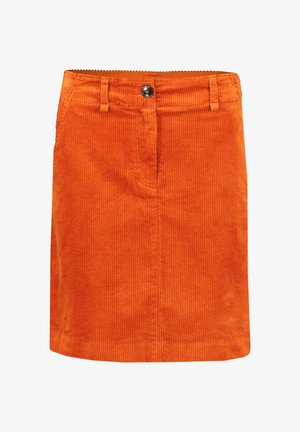A-line skirt - pumpkin orange