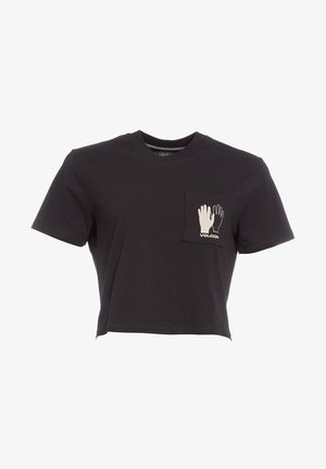 POCKET DIAL - Print T-shirt - black