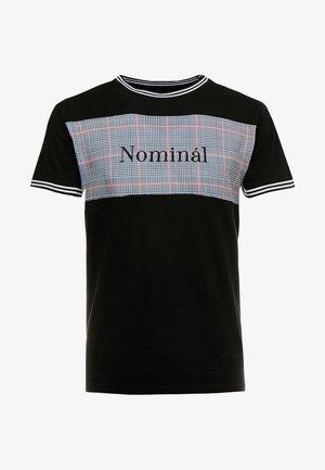 HOLBORN  - T-shirt imprimé - black