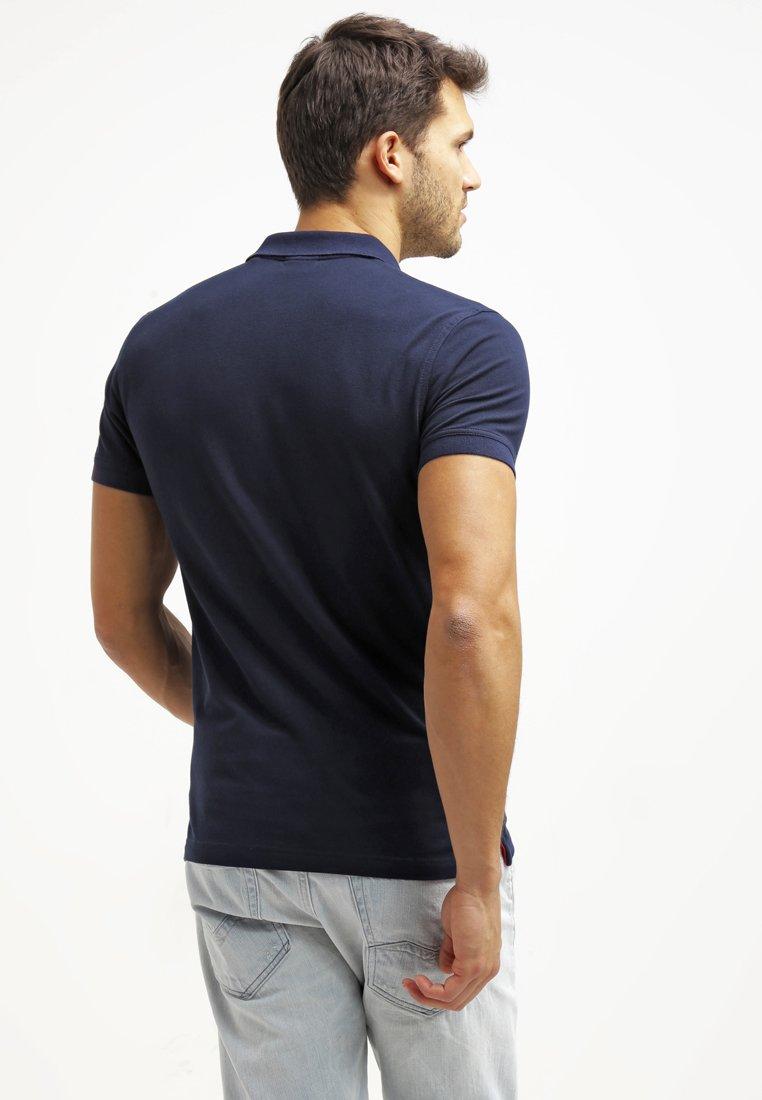 Najlepiej sprzedający się Gorąca wyprzedaż GANT Koszulka polo - thunder blue | Odzież męska 2020 5dqgr