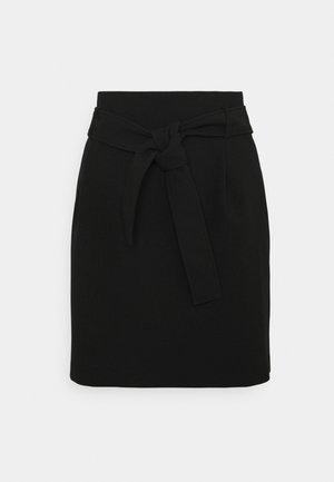 JARIA - Minifalda - noir