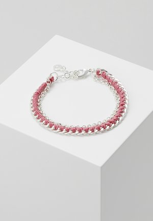TRAIL BRACE - Bracelet - silver-coloured/coral