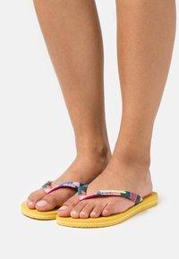 Havaianas - TOP VERANO - Pool shoes - gold yellow - 1