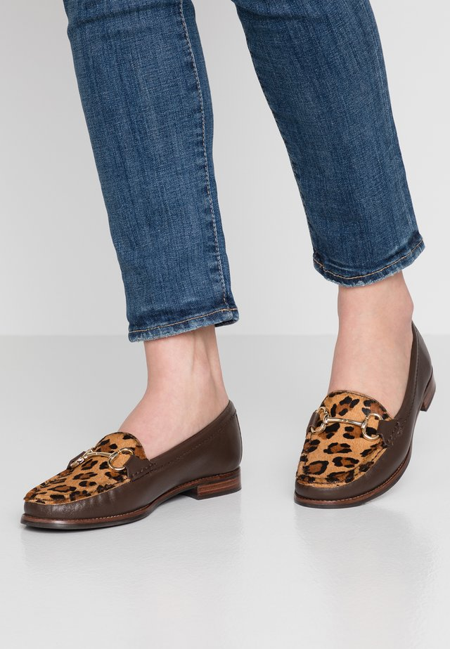CLICK - Loafers - tan