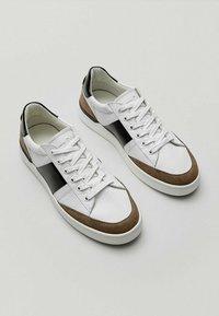 Massimo Dutti - Sneaker low - white - 3