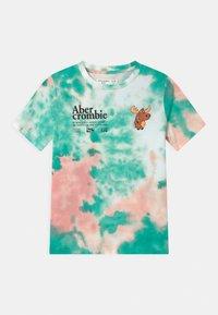 Abercrombie & Fitch - Triko spotiskem - green/pink - 0