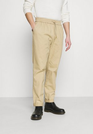 CASUAL TROUSERS - Kalhoty - khaki