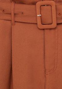 PULL&BEAR - Trousers - mottled orange - 6