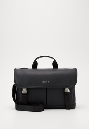 FILIPPO TOP HANDLE MESSENGER - Taška na laptop - nero