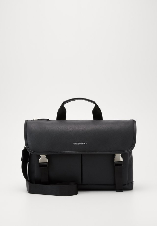 FILIPPO TOP HANDLE MESSENGER - Sac ordinateur - nero