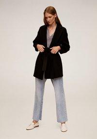 Mango - BREMEN-I - Short coat - black - 1