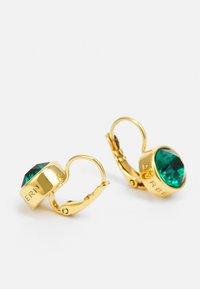 Dyrberg/Kern - LOUISE EARRING - Earrings - green/gold-coloured - 1