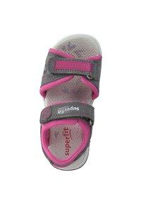 Superfit - Walking sandals - hellgrau rosa - 3