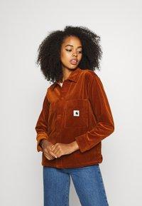 Carhartt WIP - FOYA SHIRT JACKET - Summer jacket - brandy - 2