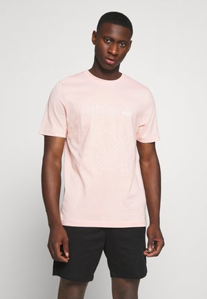 TEE - T-shirt med print - Pink
