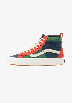 UA SK8-HI 46 MTE DX - High-top trainers - fairway/gibraltar sea