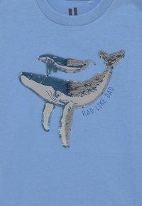 Cotton On - DOWNTOWN SHORT SLEEVE TEE - T-Shirt print - dusk blue - 2