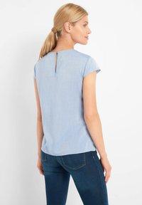 ORSAY - BLUSE MIT ZIERFALTEN - Blouse - jeansblaue - 2