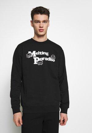 CREW NECK - Sweatshirt - darkest black