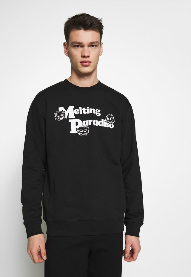 CREW NECK - Sweatshirts - darkest black