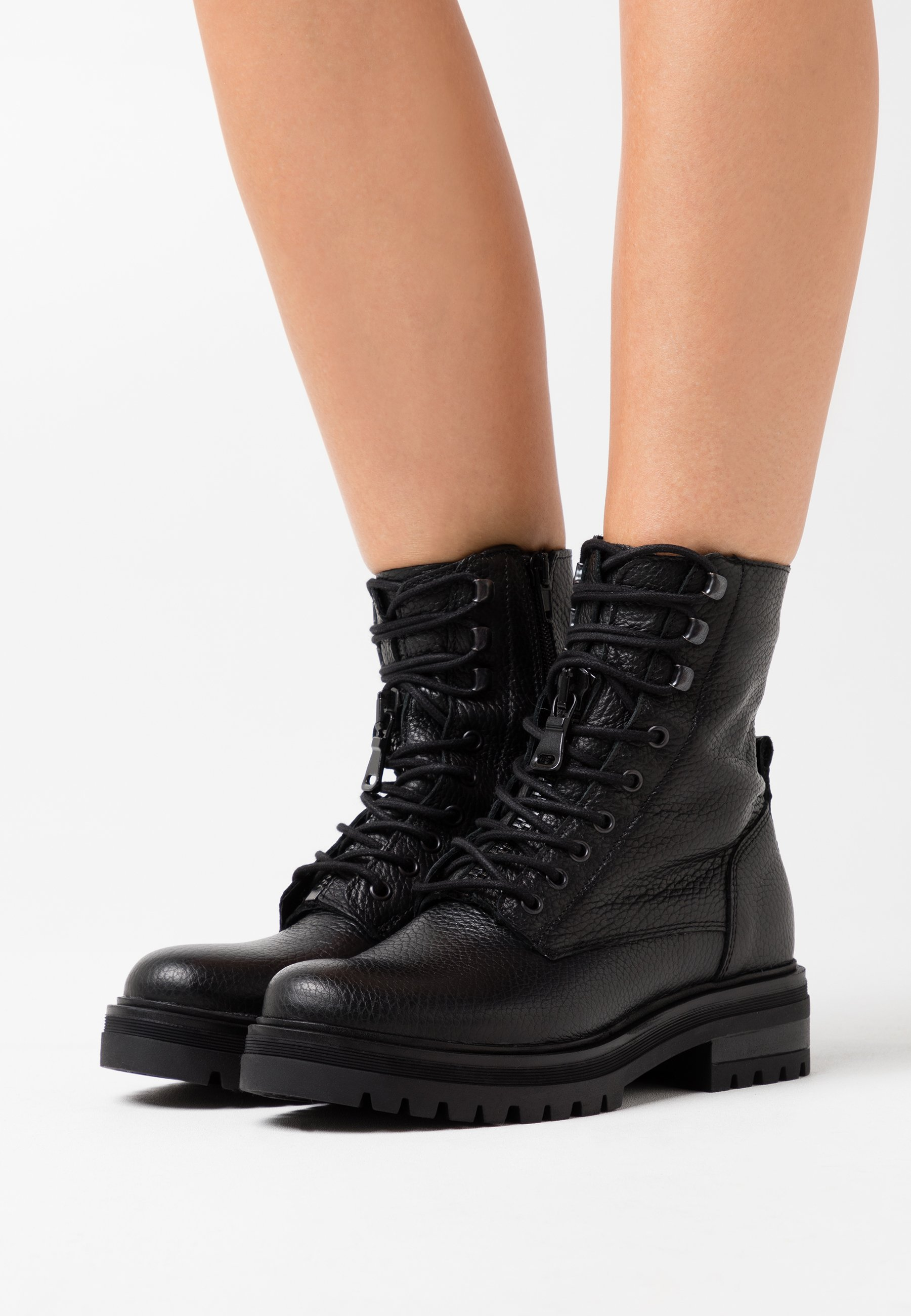 bottines a lacets zign