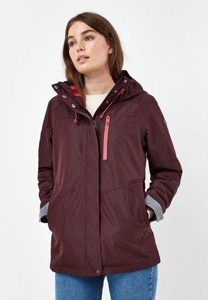 Waterproof jacket - dark purple