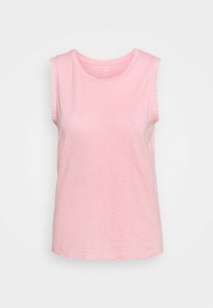 TRIM TANK - Print T-shirt - belle pink
