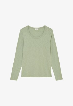 Long sleeved top - washed spearmint