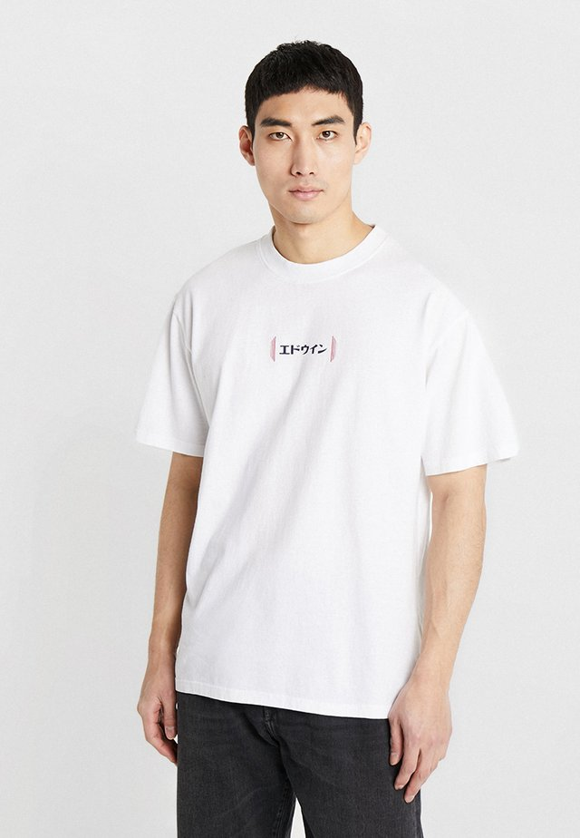 AURORA - Print T-shirt - white