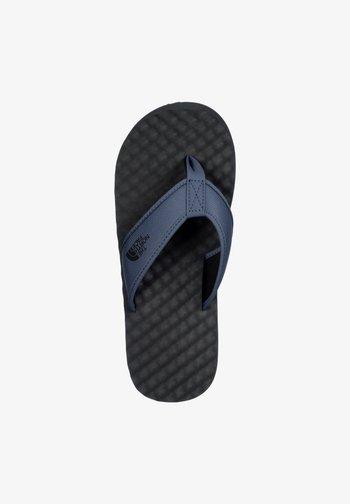 M BASE CAMP  II - T-bar sandals - shadyblue/urban