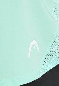 Head - ROBIN SKORT - Sportovní sukně - mint/black - 2