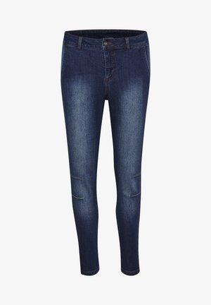 KASHEA MANDY  - Jeans Skinny Fit - dark indigo washed denim