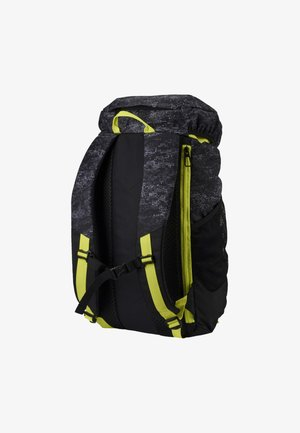 PUMA TRAINING DAILY BACKPACK UNISEX - Rucksack - black/yellow/graphic