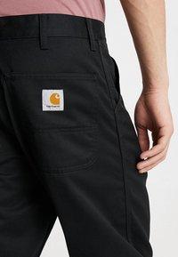 Carhartt WIP - SIMPLE DENISON - Pantalones - black - 3