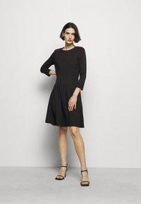 HUGO - DIAMANDA - Sukienka z dżerseju - black - 1