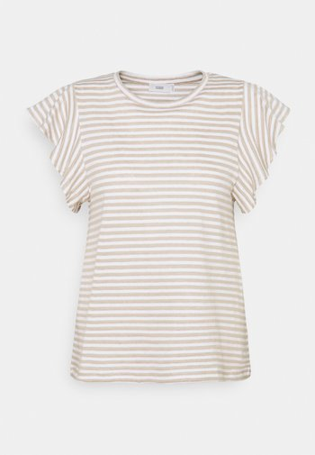 WOMENS  - Print T-shirt - shiitake