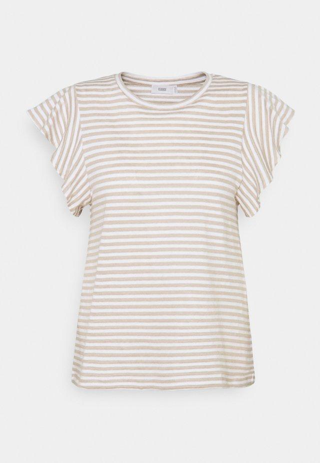 WOMENS  - T-shirt print - shiitake