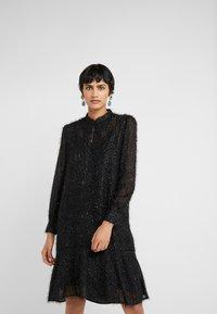 Bruuns Bazaar - ROSALEEN CAMARI DRESS - Cocktail dress / Party dress - black - 0