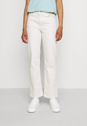 LI - Jeans straight leg - light ecru