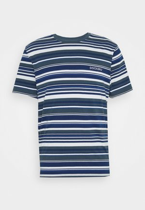 LOGO TEE - T-shirt con stampa - colman slate desert