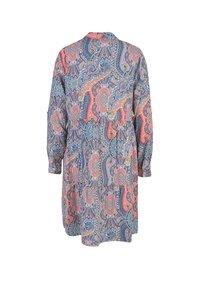 Smith&Soul - Shirt dress - aqua print - 1