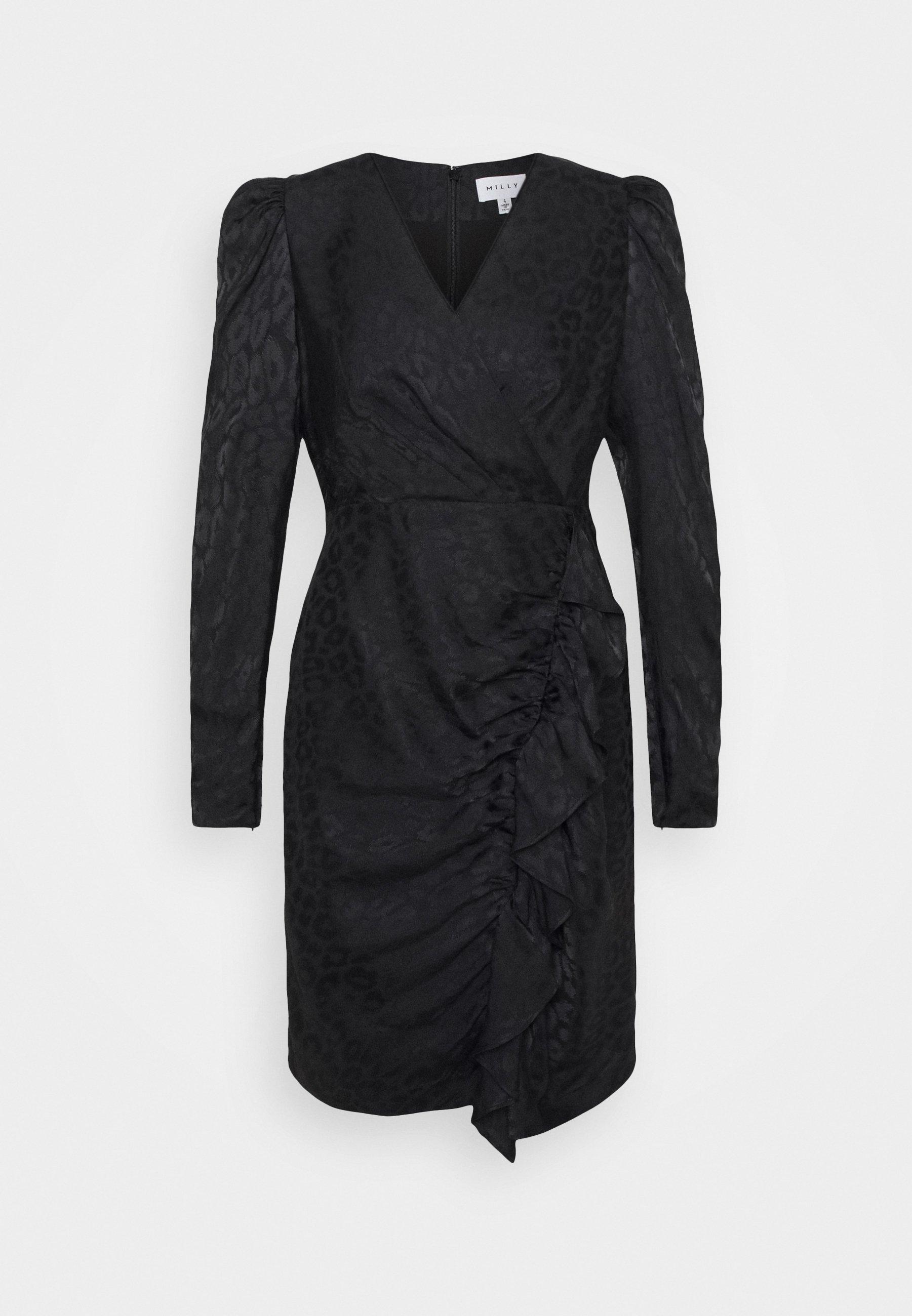 Femme FAWN CHEETAH DRESS - Robe de soirée