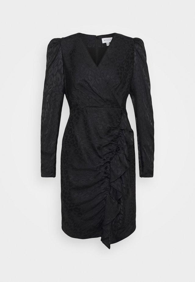 FAWN CHEETAH DRESS - Cocktailkleid/festliches Kleid - black