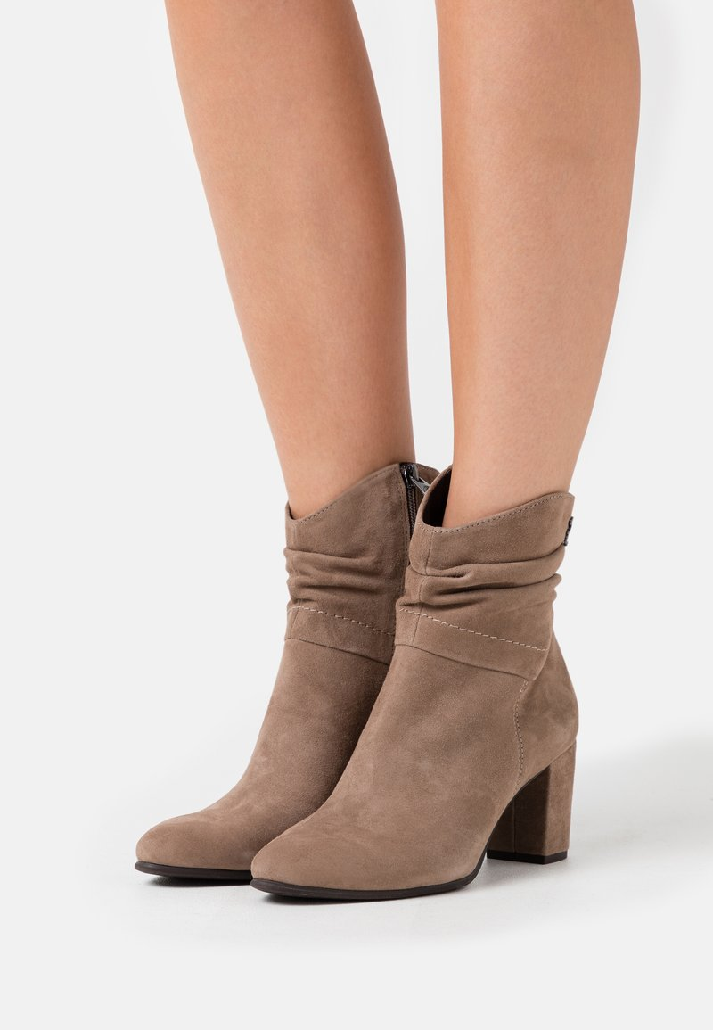 Marco Tozzi by Guido Maria Kretschmer - Classic ankle boots - taupe