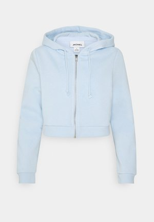 JOANNA HOODIE - Huvtröja med dragkedja - blue light
