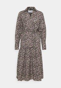 Selected Femme Tall - SLFSOLVEIG SHIRT DRESS - Abito a camicia - black - 4