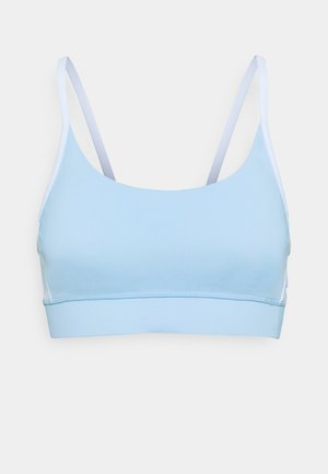 COLOUR BLOCK CROP - Sports bra - baby blue