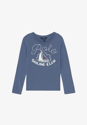 Long sleeved top - capri blue