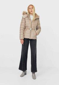 Stradivarius - Winter jacket - brown - 1